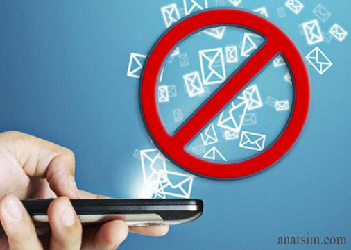 راه های قطع کردن پیامک های تبلیغاتی مزاحم